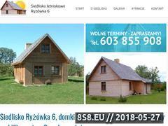 Miniaturka www.nasuwalszczyznie.pl (Domki letniskowe do wynajęcia)