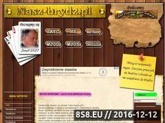 Miniaturka domeny nasz-brydz.pl