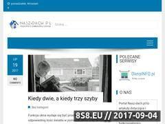 Miniaturka domeny www.nasz-dach.pl