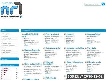 Zrzut strony Nasza-Reklama.pl - tablice ścienne, tabliczki, szyldy, oznakowanie obiektów