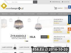 Miniaturka domeny naszelampy24.pl