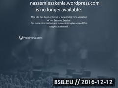 Miniaturka domeny naszemieszkania.wordpress.com