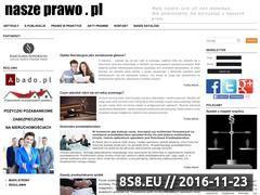 Miniaturka naszeprawo.pl (Edukacja prawna)
