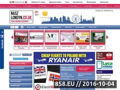 Miniaturka domeny www.naszlondyn.co.uk