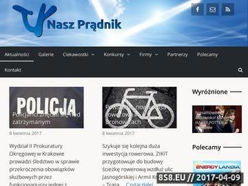 Zrzut strony Informacje z Krakowa