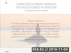 Miniaturka Natasza Cholewa psychoterapia Kraków (nataszacholewa.pl)