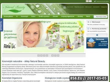 Zrzut strony Kosmetyki naturalne