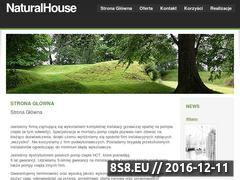 Miniaturka domeny naturalhouse.com.pl