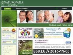 Miniaturka domeny www.naturopatia-sanatum.pl