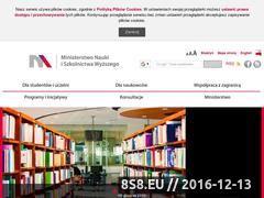 Miniaturka domeny www.nauka.gov.pl
