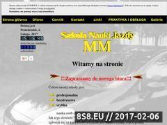 Miniaturka domeny www.naukajazdymm.pl