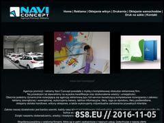 Miniaturka domeny www.navi-concept.pl