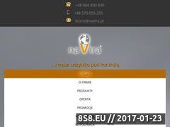 Miniaturka domeny www.navira.pl