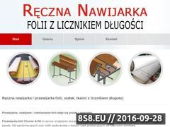 Miniaturka domeny www.nawijarka.pl