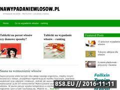 Miniaturka domeny www.nawypadaniewlosow.pl
