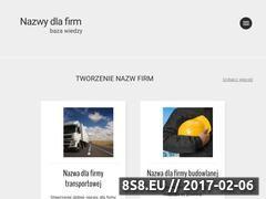 Miniaturka Baza wiedzy - tworzenie nazw (nazwydlafirm.com)