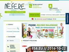Miniaturka domeny www.nefere.pl