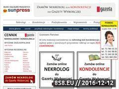 Miniaturka domeny nekrologidogazety.pl