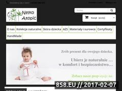 Miniaturka nelkoatopic.pl (Producent bezpiecznej odzieży dziecięcej)