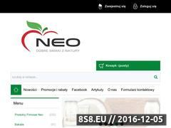 Miniaturka Sklep ze zdrową żywnością online (neo.sklep.pl)