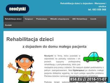 Zrzut strony Rehabilitacje najmłodszych dzieci w Warszawie