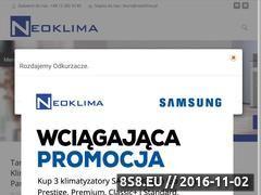 Miniaturka domeny www.neoklima.pl