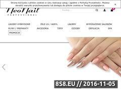 Miniaturka www.neonail.pl (NeoNail - produkty do pielęgnacji paznokci)