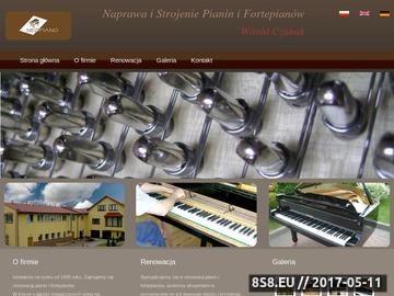 Zrzut strony Piano reparatie