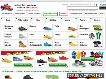 Zrzut strony Neosport.pl Szybkie obuwie sportowe. Kup dziś, załóż jutro!