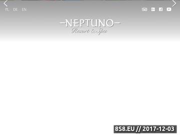 Zrzut strony Neptuno Resort & Spa w Dźwirzynie