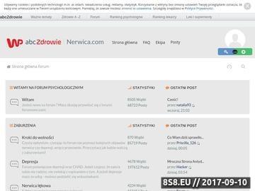 Zrzut strony Nerwica