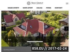 Miniaturka domeny www.nestgroup.pl