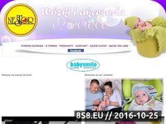 Miniaturka domeny www.nestor-wozki.com
