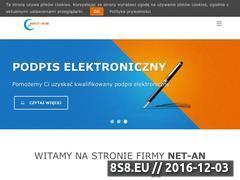 Miniaturka domeny www.net-an.pl