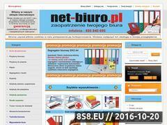 Miniaturka domeny www.net-biuro.pl