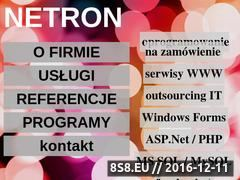 Miniaturka domeny www.netron.com.pl