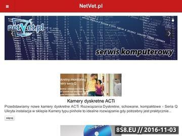 Zrzut strony Usługi informatyczne, podpis elektroniczny, monitoring wideo ip