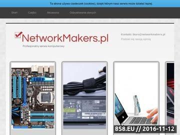 Zrzut strony ROBIMY SIECI...NETWORK MAKERS
