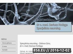 Miniaturka domeny www.neurolog-zielonagora.pl