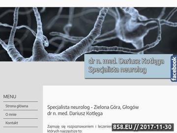 Zrzut strony Specjalista neurolog - Zielona Góra