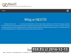 Miniaturka domeny next5.com.pl