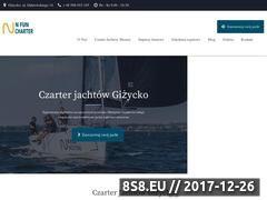 Miniaturka nfuncharter.pl (Czarter Jachtów Giżycko Mazury)