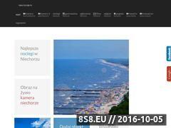 Miniaturka Serwis z noclegami nad morzem - Niechorze (niechorze.tv)
