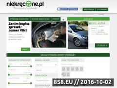 Miniaturka niekrecone.pl (Ogłoszenia motoryzacyjne i porady jak kupić auto)