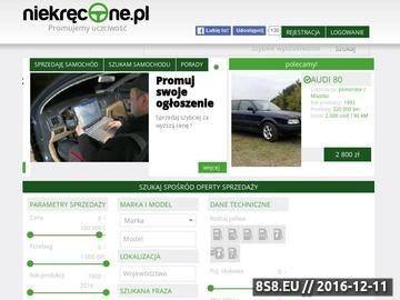 Zrzut strony Sprzedaż i kupno samochodów nowych i używanych, autogiełda