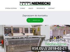 Miniaturka niemiecki.radom.pl (Biuro tłumaczeń Radom, tłumacz niemiecki Radom)
