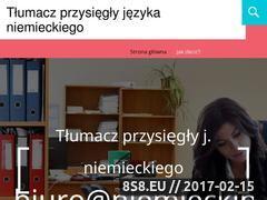 Miniaturka domeny www.niemieckiprzysiegly.com