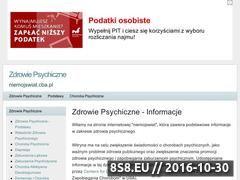Miniaturka domeny www.niemojswiat.cba.pl