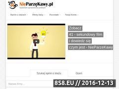 Miniaturka www.nieparzekawy.pl (Oferty staży)