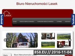 Miniaturka domeny nieruchomosci-lasek.pl